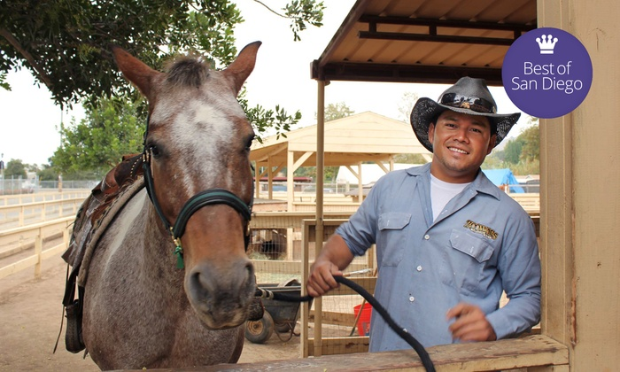 Zoomars - San Juan Capistrano: $22 for a Petting-Zoo Visit for Four with Horse Rides at Zoomars ($52 Value)