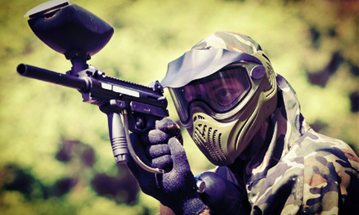 Paintball Authority - Old Bridge: All-Day Paintball Outing with Tippman 98 Markers and Ammo for Two or Four at Paintball Authority (Up to 69% Off)