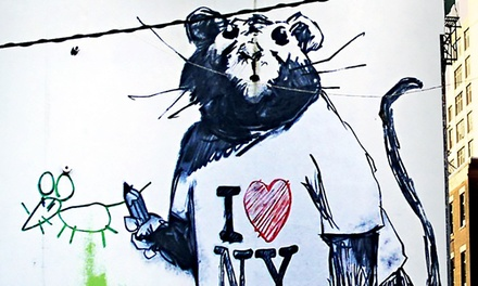 Street Art Tour of New York for One, Two, or Four from Great Food Tours (Up to 61% Off)