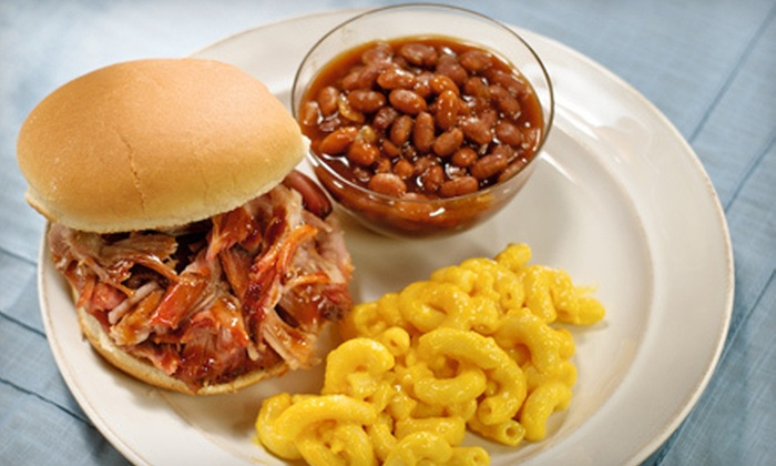 VooDoo BBQ & Grill - Multiple Locations: $5 for $10 Worth of Louisiana-Style Barbecue Cuisine at VooDoo BBQ & Grill. Three Locations Available.