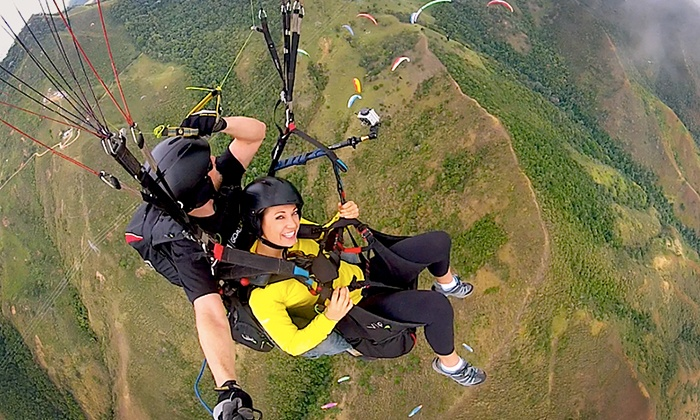 Nice Sky Adventures - Nice Sky Adventures: Paragliding Experience for One with Photos and Video from Nice Sky Adventures (Up to 28% Off). Two Options Available.