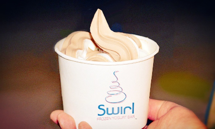 Swirl Frozen Yogurt Bar - Southwest Orange: Frozen Yogurt at Swirl Frozen Yogurt Bar (Up to 55% Off). Two Options Available.