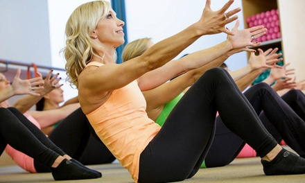 One or Two Months of Unlimited Fitness Classes at The Dailey Method (Up to 52% Off)