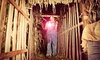 The Dark Crop - Hollis: $25 for Haunted Corn Maze Admission for Four at The Dark Crop ($48 Value)