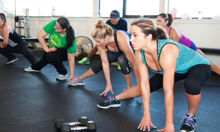 Two or Four Weeks of Unlimited Boot Camp Classes at Synergy Personal Training (Up to 76% Off)