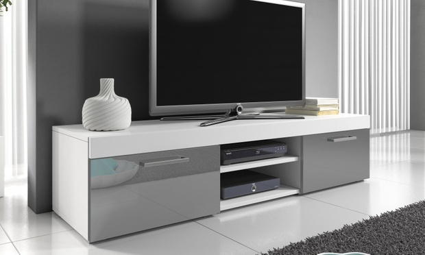 meuble tv mambo groupon. Black Bedroom Furniture Sets. Home Design Ideas