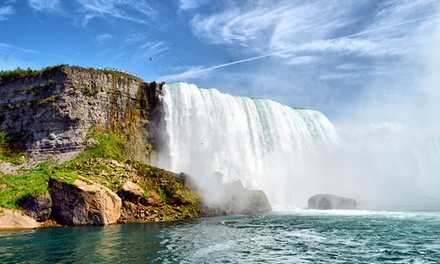 2-Night Stay for Two w/ Dining Credit and Wine at Sterling Inn & Spa in Niagara Falls, ON. Valid for Check-In Sun.–Thu.