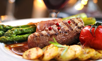 image for Two-Course Meal with Wine for Two or Four at Harrisons Restaurant (Up to 58% Off)