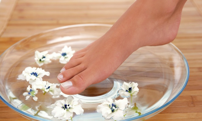 Jolly Nails Spa - Granger: One or Two Pedicures with Paraffin Wax, Sugar Scrub, and Hot Towels at Jolly Nails Spa (43% Off)