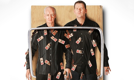 Colin Mochrie and Brad Sherwood: Two Man Group at War Memorial Auditorium on Saturday, April 12 (Up to 41% Off)