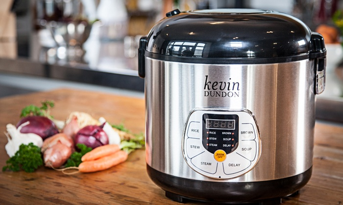 Kevin Dundon 20-Cup Multi-Cooker: $44.99 for a Kevin Dundon 20-Cup Multi-Cooker ($169.99 List Price). Free Shipping and Returns.