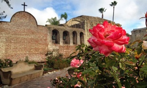 Mission San Juan Capistrano: Visit for Two or Four Adults to Mission San Juan Capistrano (50% Off)