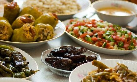 Orientalisches Frühstücksbuffet inkl. Kaffee oder Mokka für zwei, vier oder sechs Personen (bis zu 39% sparen*)