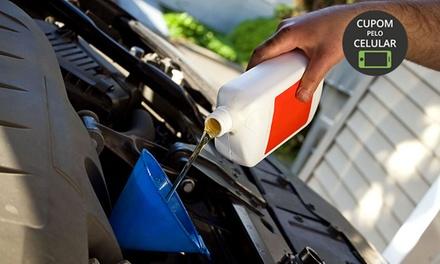 Londricar – Partenon: troca de óleo e filtro e check up (opção de troca de filtro de ar condicionado e higienização)