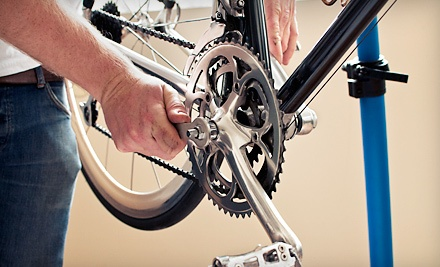 $20 for a Bicycle Tune-Up with Free Pickup and Drop-Off at The Bicycle Clinic ($40 Value)