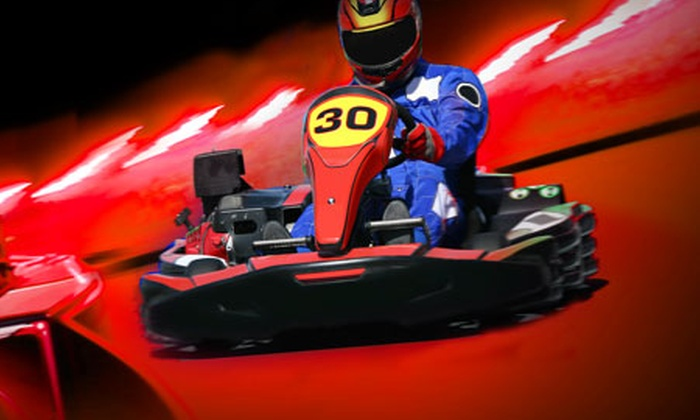 Fun City Entertainment Complex - Sunshine: Formula E Go-Karting - 80 Laps ($19) or 120 Laps ($29) at Fun City Entertainment Complex (Up to $69 Value)