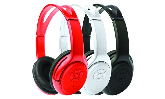 Z REISS & ASSOCIATES: Impecca Bluetooth Stereo Over-Ear Headphones with Built-in Mic