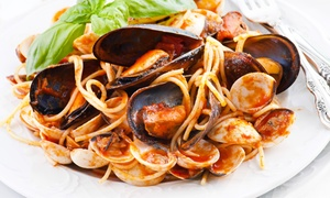 La Casa Pasta: Three-Course Prix Fixe Italian Dinner for Two or Four at La Casa Pasta (Up to 47% Off). Four Options Available.