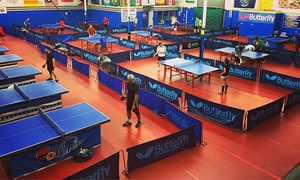 The TopSpin: Table Tennis at The TopSpin (Up to 40% Off). Five Options Available.