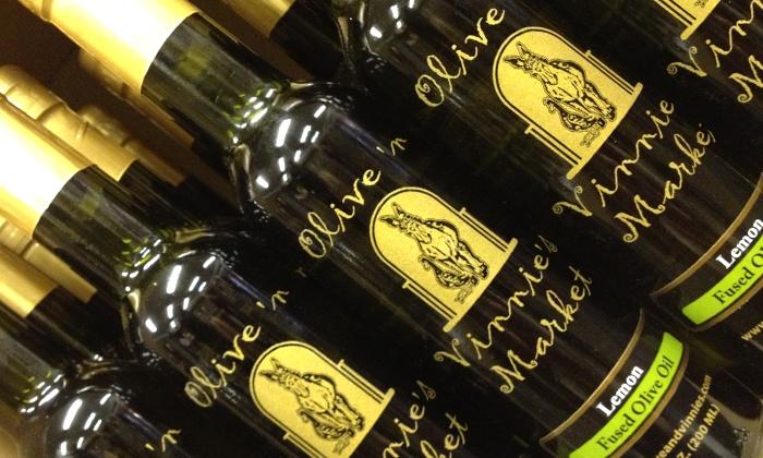 Olive 'n Vinnie's Market - Cedarburg: $13 for One Four-Pack of Olive Oils and Balsamic Vinegars at Olive 'n Vinnie's Market ($26 Value)