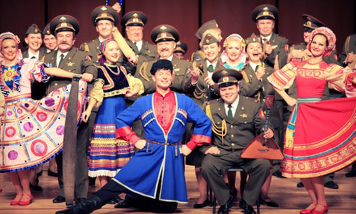 Red Star Red Army Chorus and Dance Ensemble - Springwells: $24 for Two Tickets to Red Star Red Army Chorus and Dance Ensemble in Dearborn on March 23 at 8 p.m. ($48 Value)