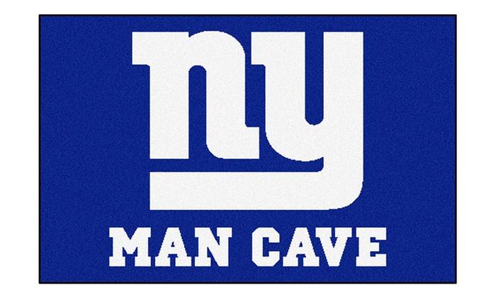 Man Cave Store Coastal Grand Mall : Nfl man cave starter mats groupon goods
