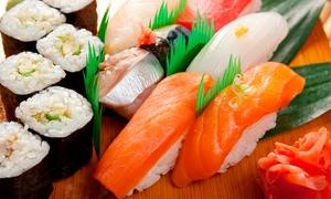 OMORI: Japanisches All-you-can-eat mit Sushi und Speisen vom Teppan-Grill für Zwei im OMORI ab 19,90 €