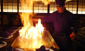 Kabuki Japanese Steakhouse & Sushi : Japanese Steak-House Cuisine for Dinner for Two or Four at Kabuki Japanese Steakhouse & Sushi (47% Off)