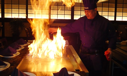 Japanese Steak-House Cuisine for Two or Four at Kabuki Japanese Steakhouse & Sushi (47% Off)