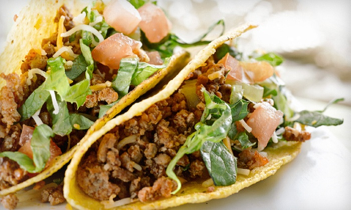 Yo! Taco - Multiple Locations: $10 for $20 Worth of Mexican Food at Yo! Taco