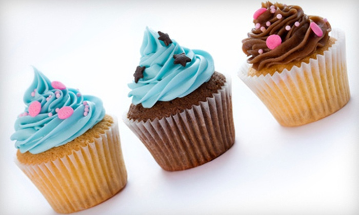 Best City Cupcakes - Windrow: One Dozen Cupcakes or One Small or Large Platter of Mini Cupcakes at Best City Cupcakes in Indian Trail (Up to 56% Off)