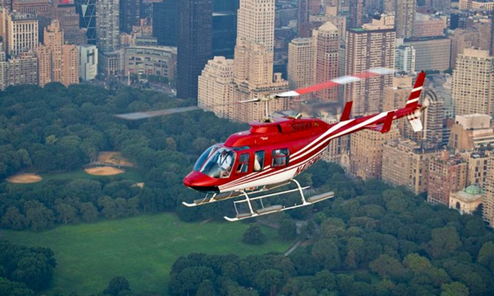 Spend 15 to 25 minutes soaring over New York City on tours that pass the Statue of Liberty, the Empire State Building, and Yankee Stadium.