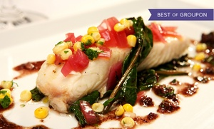 Oceanique: Chef's Five-Course French Seafood Tasting Dinner for Two or Four at Oceanique (Up to 53% Off)