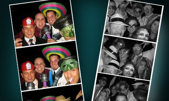 Marx Entertainment - East Longmeadow: $499 for a Four-Hour Photo-Booth Rental with Props and Scrapbook from Marx Entertainment ($1,500 Value)