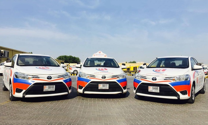 Deals driving lessons dubai