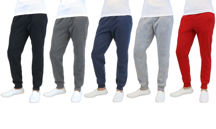 Galaxy by Harvic Men's Fleece Joggers (2-Pack)