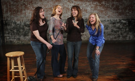 """Four Funny Females"" at Courtroom Theater on Saturday, March 28, at 8 p.m. (Up to 50% Off)"