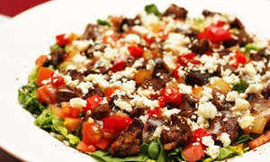Tripoli's Mediterranean Grill & Hookah Lounge: Mediterranean Food at Tripoli's Mediterranean Grill & Hookah Lounge (Up to 45% Off). Two Options Available.