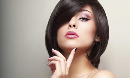 Women's Haircut with Optional Color or Partial or Full Highlights at Serene Serene Hair Salon (Up to 55% Off)