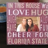 """NCAA 10""""x10"""" In this House Frame"""