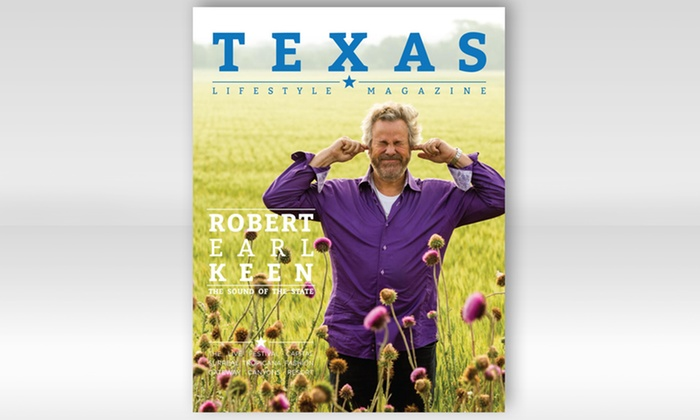 "Texas Lifestyle Magazine: One- or Two-Year Subscription to ""Texas Lifestyle"" Magazine (Up to 52% Off)"