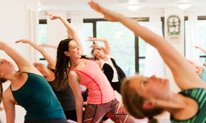 Health Yoga Life: Three Yoga Classes, 45 Days of Unlimited Yoga, or Online Yoga Package from Health Yoga Life (Up to 80% Off)