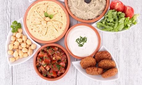 Cocina libanesa para dos o cuatro con entrante, principal, postre y bebida desde 19,90 € en restaurante de Santa Pola