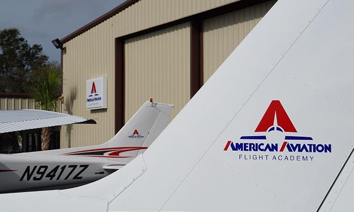 American Aviation Flight Academy - American Aviation Flight Academy: $79 for 30-Minute Discovery Flight Lesson at American Aviation Flight Academy ($219 Value)
