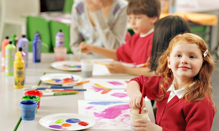 KidzArt - Apex: Four Art Classes for Kids Ages 3 and Up at KidzArt (50% Off). Three Options Available.