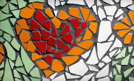 Three-Hour Beginner Mosaics Class for One, Two, or Six at Sharri's Discount Art Supplies (Up to 75% Off)
