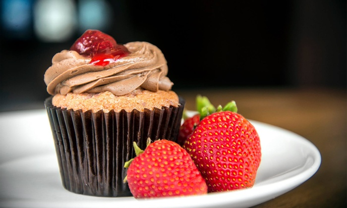 Argyle Cupcakes and Frozen Yogurt - The Shops at Belvedere: 6 Large Gourmet Cupcakes or 4 Groupons for Frozen Yogurt at Argyle Cupcakes and Frozen Yogurt (Up to 50% Off)