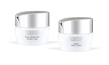 L'Reve Pearl Moisturizer and Night Cream (1.7 Fl. Oz. Each)
