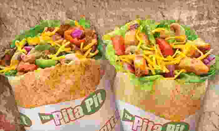 Pita Pit - Downtown: $8 for $16 Worth of Pita Wraps, Salads, and Soups at Pita Pit