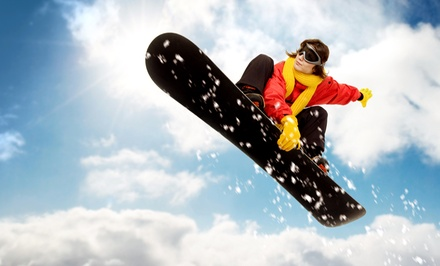 $60 for a Skiing-and-Snowboarding Platinum-Membership Package with Discounts from SnowBomb